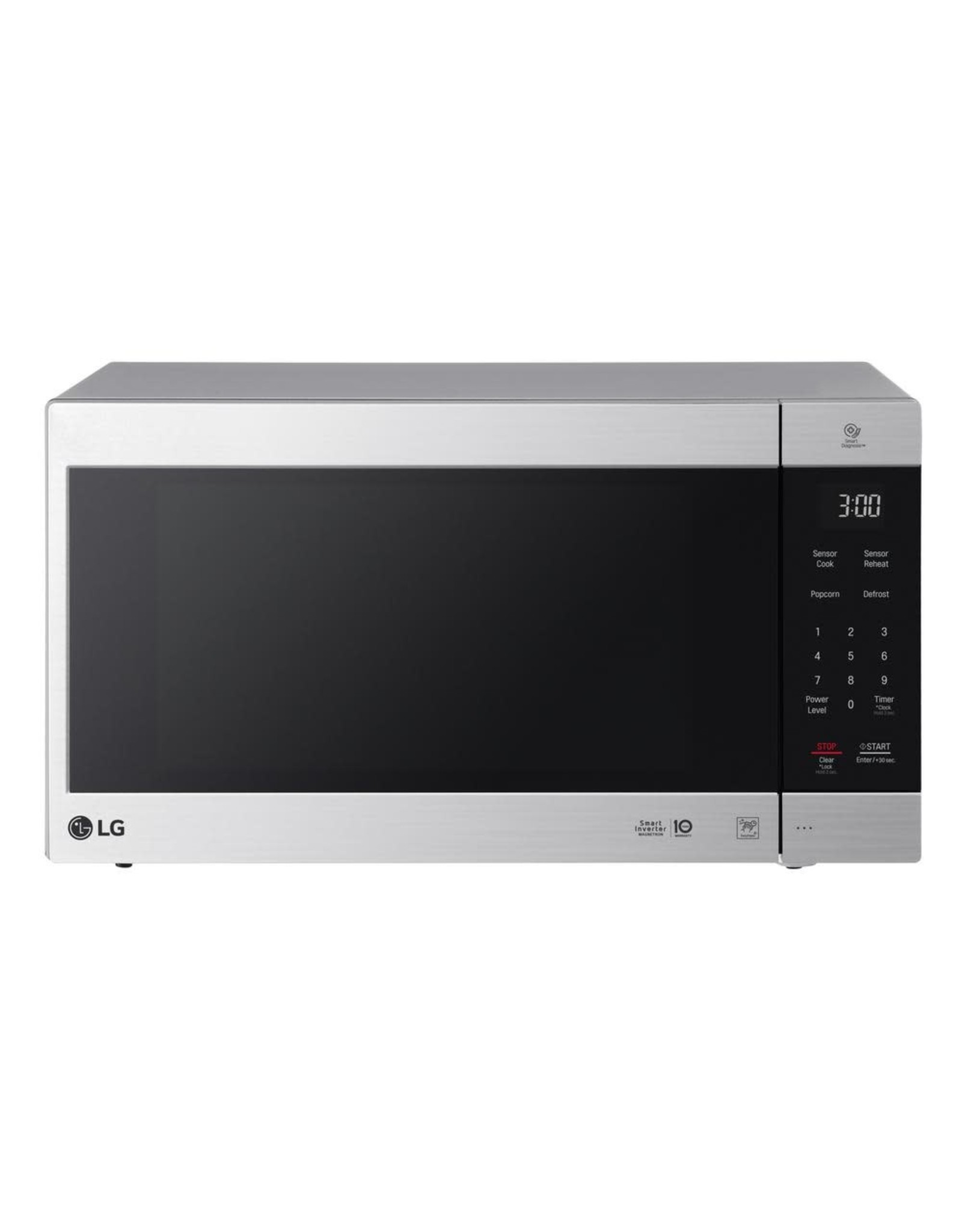 LG Electronics LMC2075ST NeoChef 2.0 cu. ft. Countertop Microwave in Stainless Steel