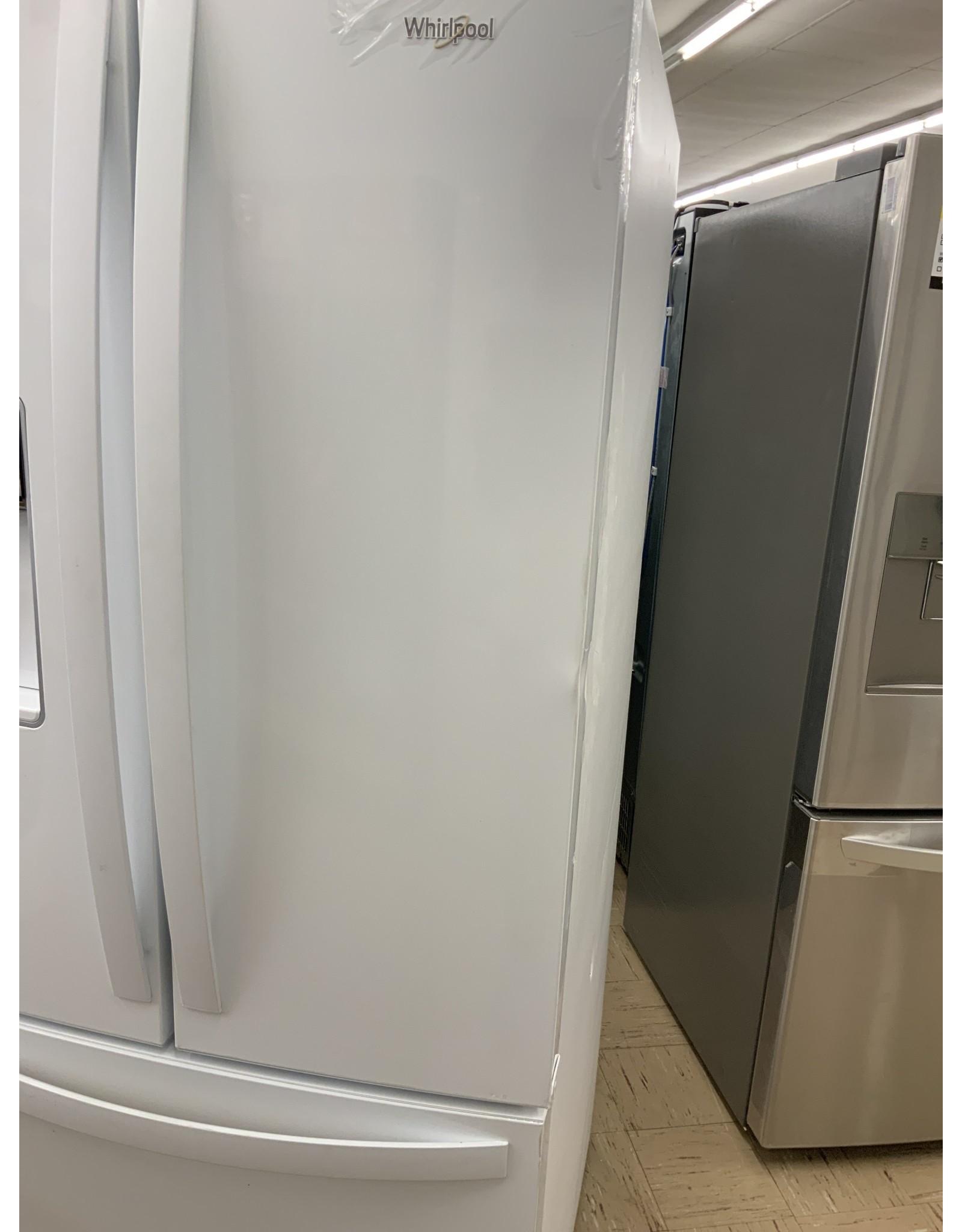 "WRF560SEHW WHR No Frost Multi Dr -FreeStandg Refr Frez - 20 CU FT, 30"" WIDTH, ESTAR, FRENCH DOOR,"