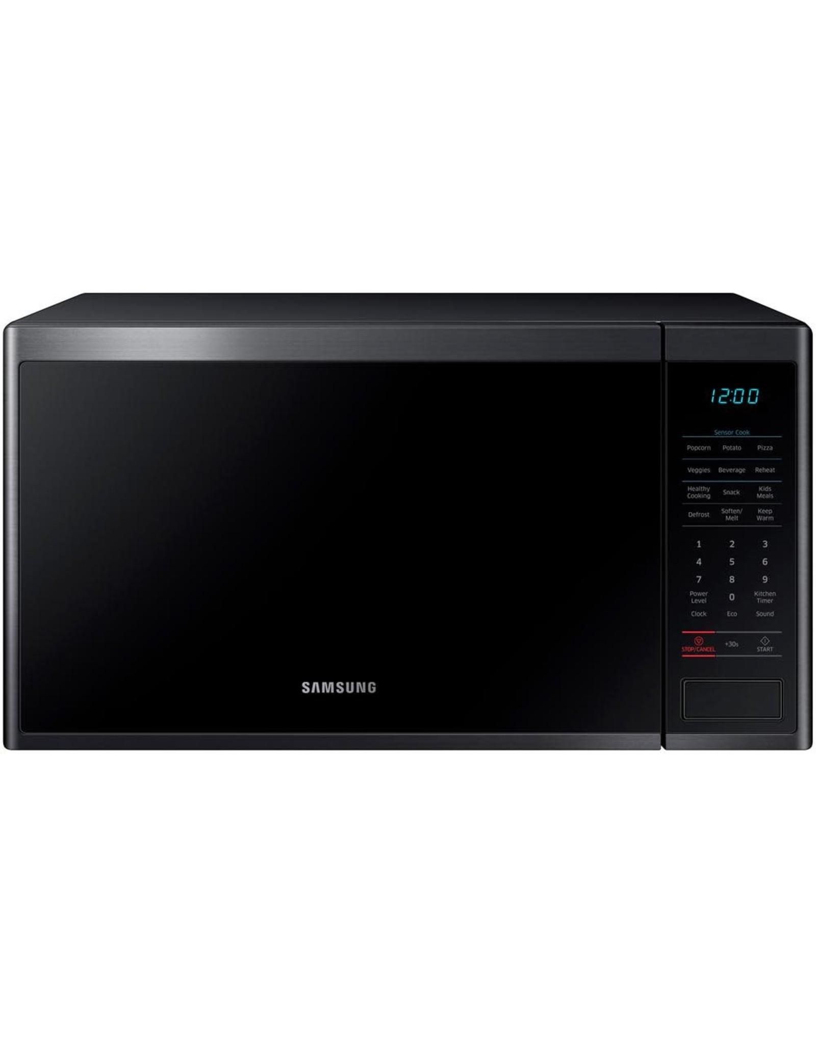 SAMSUNG MS14K6000AG Samsung 1.4 Cu. Ft. Microwave, Ceramic Enamel, Sensor Cook, Tact & Dial, LED