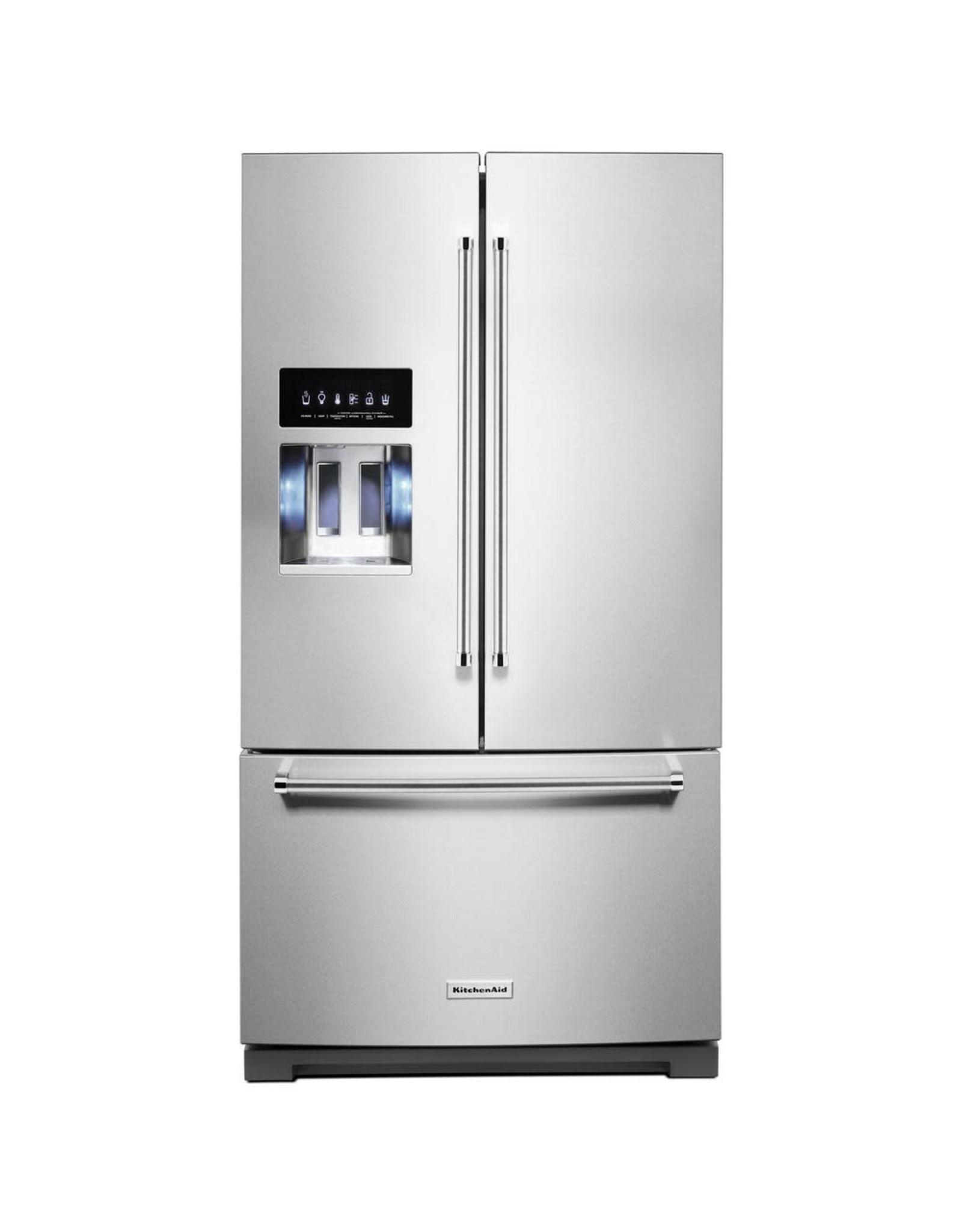 KRFF507HPS KAD No Frost Multi Dr -FreeStandg Refr Frez - 27 CU FT, FRENCH DOOR, LED, IDI, SINGLE