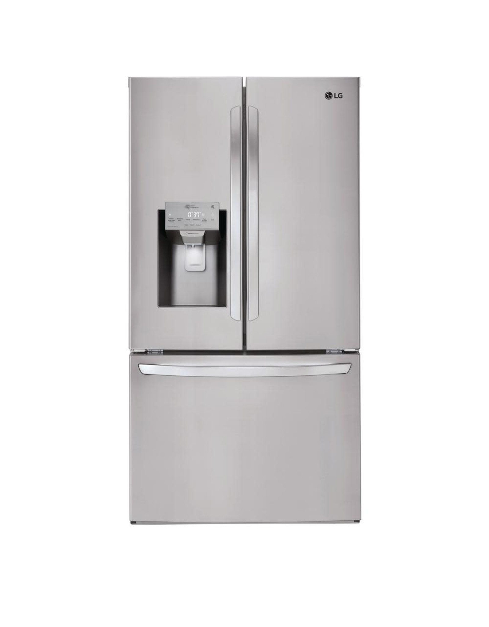 LG Electronics LFXS26973S 26.2 cu. ft. French Door Smart Refrigerator with Wi-Fi Enabled in Black Stainless Steel
