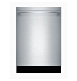 BOSCH SHXM4AY55N 100 Series Top Control Tall Tub Dishwasher in Stainless Steel with Hybrid Stainless Steel Tub and 3rd Rack, 48dBA