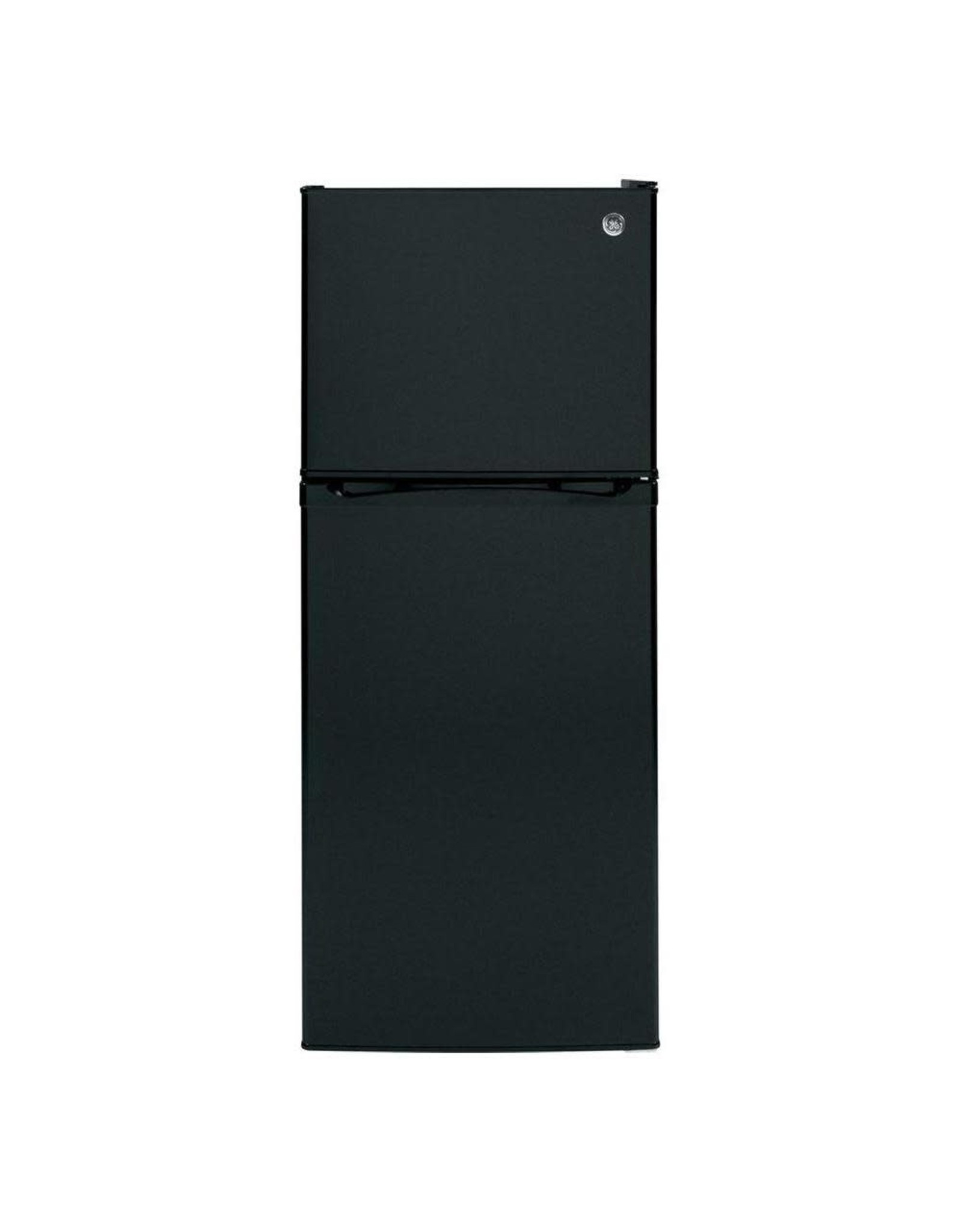 GE GPE12FGKBB 11.6 cu. ft. Top Freezer Refrigerator in Black, ENERGY STAR