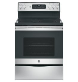 GE JB655SKSS 30 in. 5.3 cu. ft. Electric Range with Self-Cleaning Convection Oven in Stainless Steel