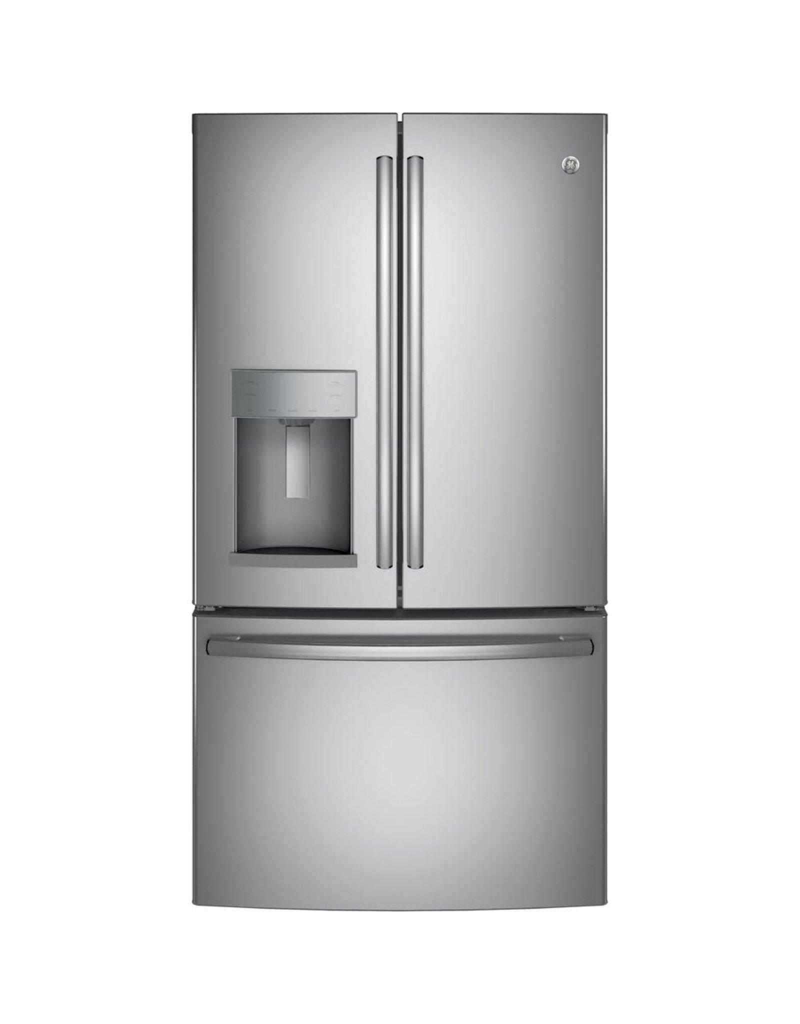 GE GFD28GYNFS 27.8 cu. ft. French Door Refrigerator with Door-in-Door in Fingerprint Resistant Stainless Steel