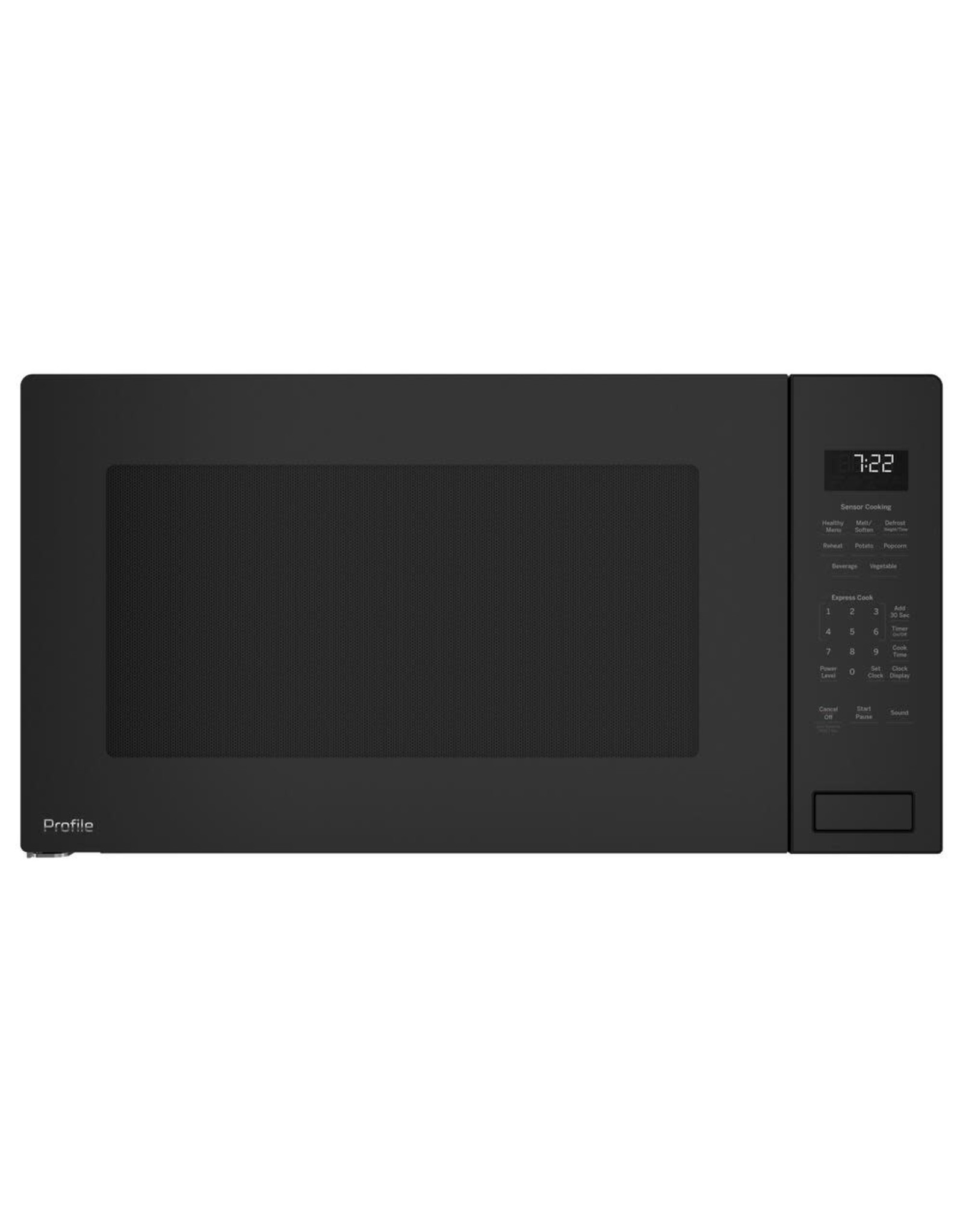 GE PROFILE PEB7227ANDD Profile 2.2 cu. ft. Countertop Microwave in Gray with Sensor Cooking