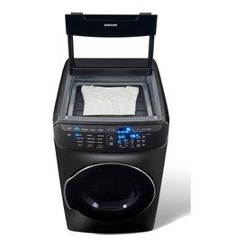 SAMSUNG DVE55M9600V Samsung 7.5 cf Electric Flex Dryer w/ Multi-Steam
