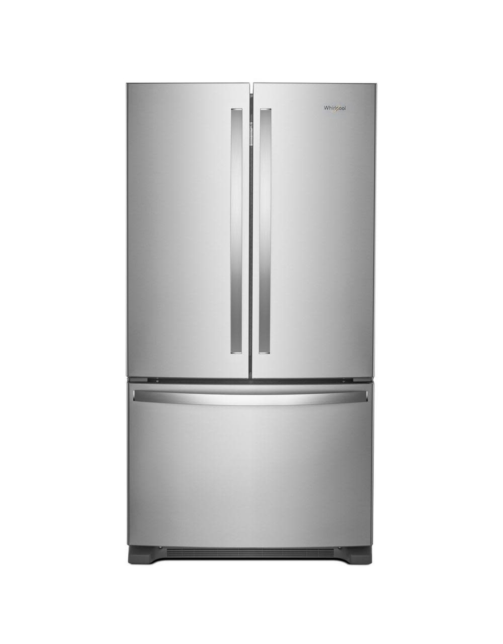 WHIRLPOOL 25 cu. ft. French Door Refrigerator in Fingerprint Resistant Stainless Steel with Internal Water Dispenser