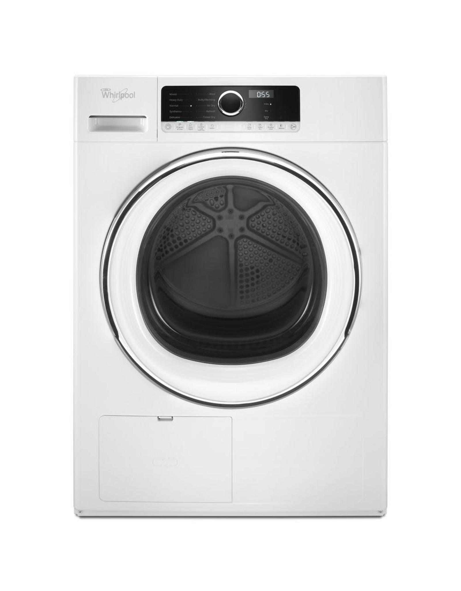 WHD5090GW /126 WHR Air Vented-Dryer FL Match - 4.3 CU. FT., VENTLESS HEAT PUMP, 10 CYCL