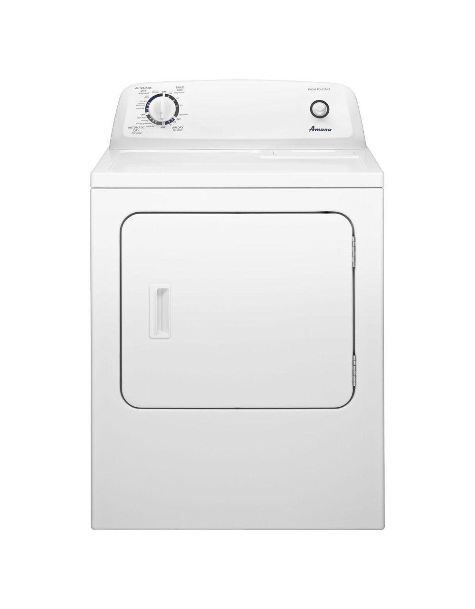 AMANA NGD4655EW2  6.5 cu. ft. 120-Volt White Gas Vented Dryer