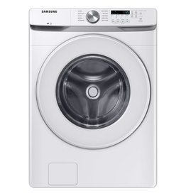 SAMSUNG WF45T6000AW Samsung 27 in. 4.5 cu. ft. High-Efficiency White Front Load Washing Machine with Self-Clean+, ENERGY STAR