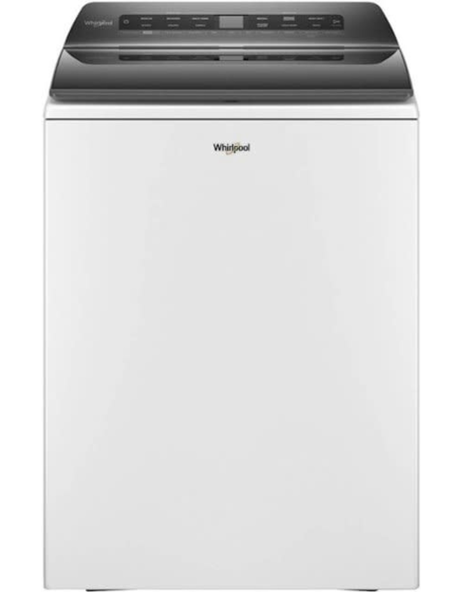 WHIRLPOOL Whirlpool 4.8 cu. ft. Smart White Top Load Washing Machine with Load and Go, Built-in Water Faucet and Stain Brush