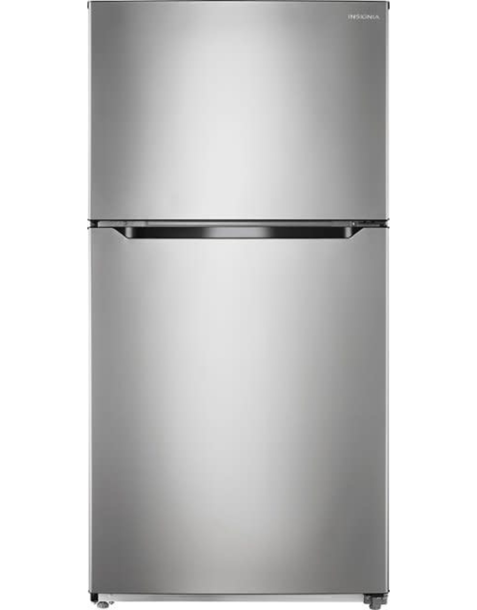 Insignia™ NS-RTM21SS7 Insignia™ - 21 Cu. Ft. Top-Freezer Refrigerator - Stainless steel