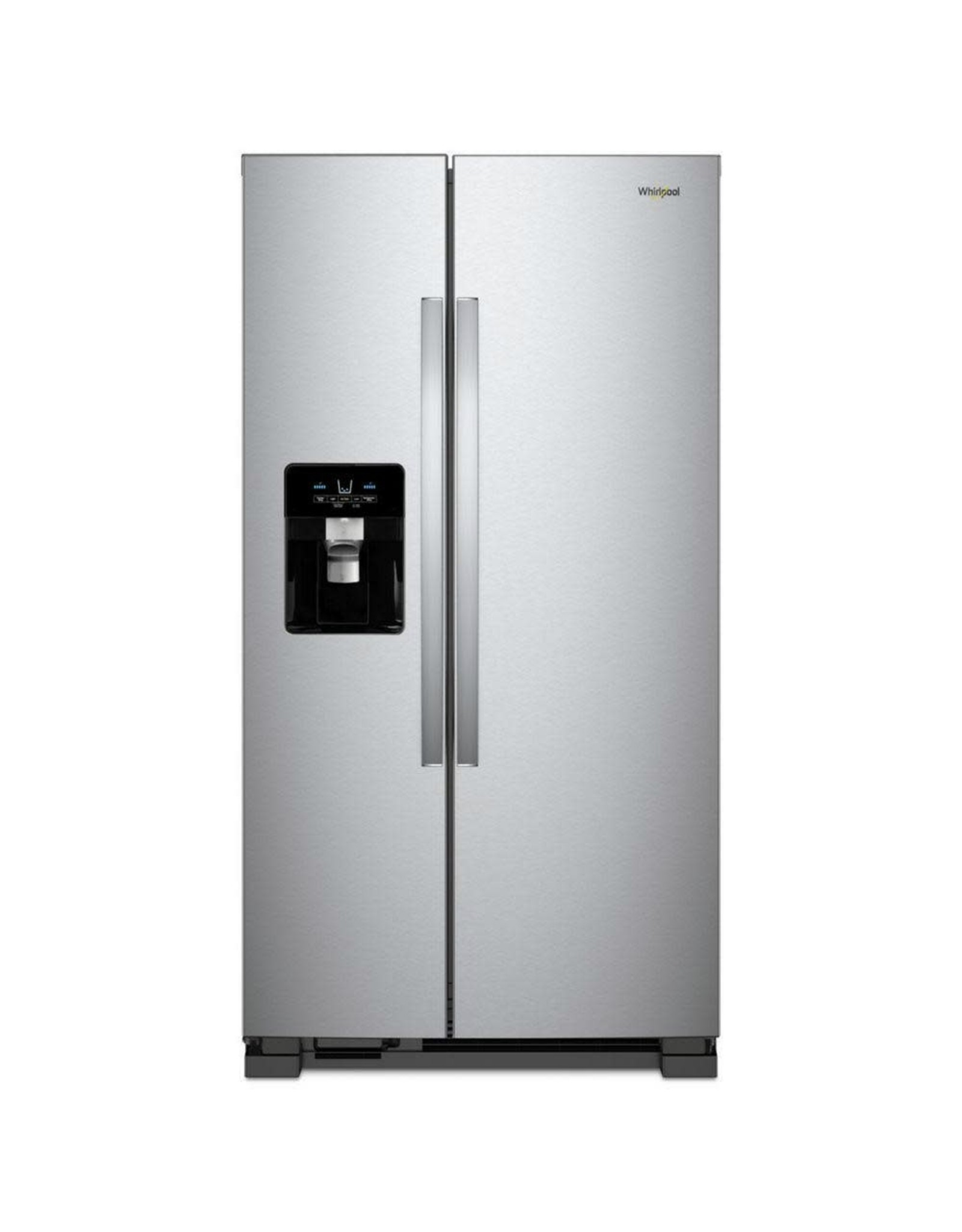WHIRLPOOL 25 cu. ft. Side by Side Refrigerator in Fingerprint Resistant Stainless Steel