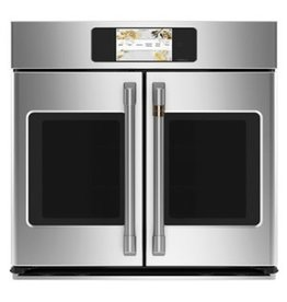 """MONOGRAM ZTSX1FPSNSS Statement 30"""" Stainless Steel French Door Electric Single Wall Oven - Convection - ADA Compliant"""