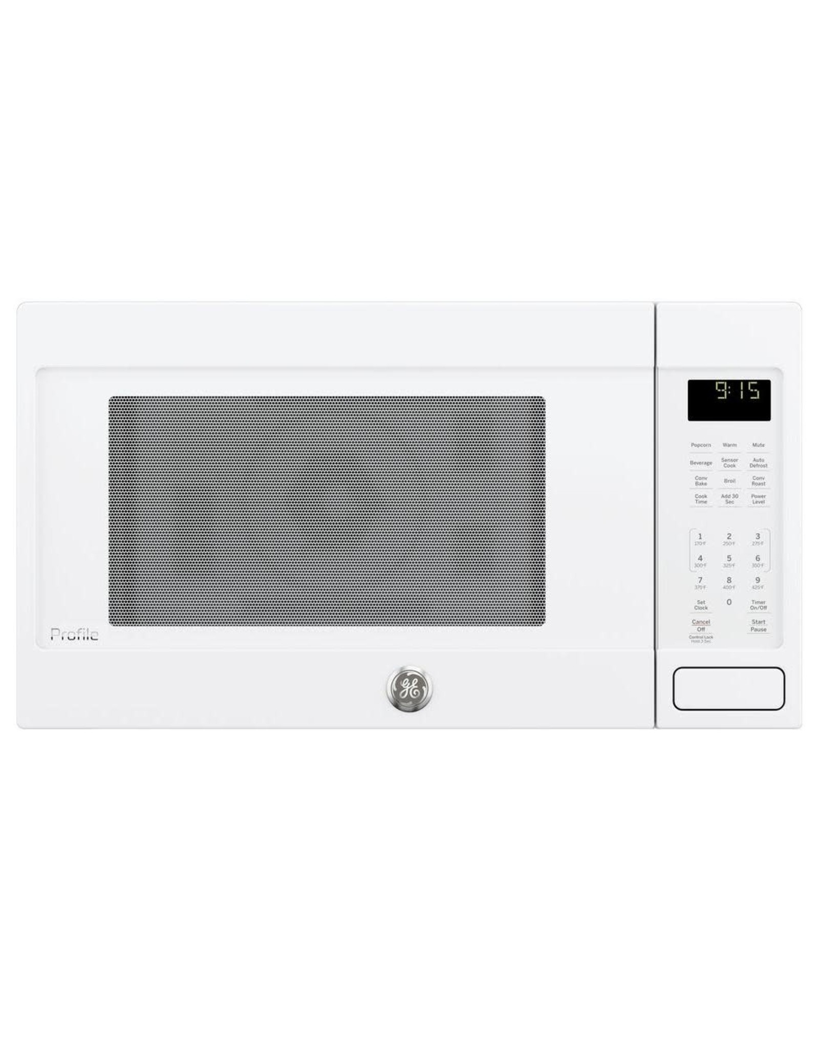 GE PEB9159DJWW Profile 1.5 cu. ft. Countertop Convection Microwave in White