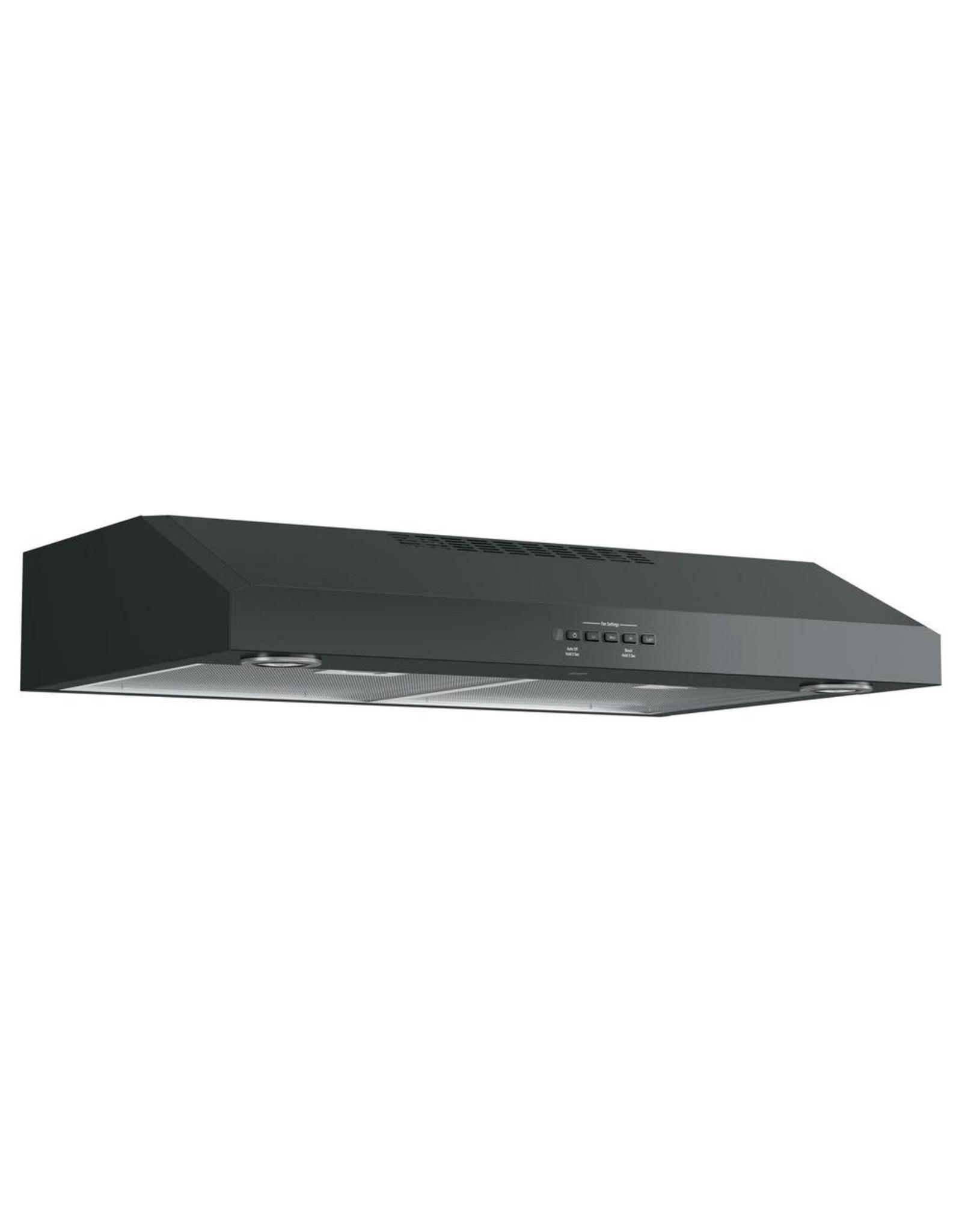 GE IN THE BOX JVX5300DJBB 30 in. Under the Cabinet Range Hood in Black