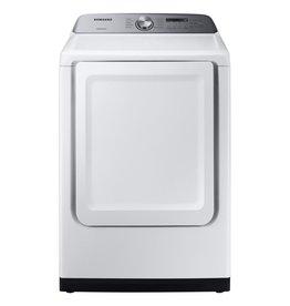 SAMSUNG DVE50R5200W 7.4 cu. ft. White Electric Dryer with Sensor Dry