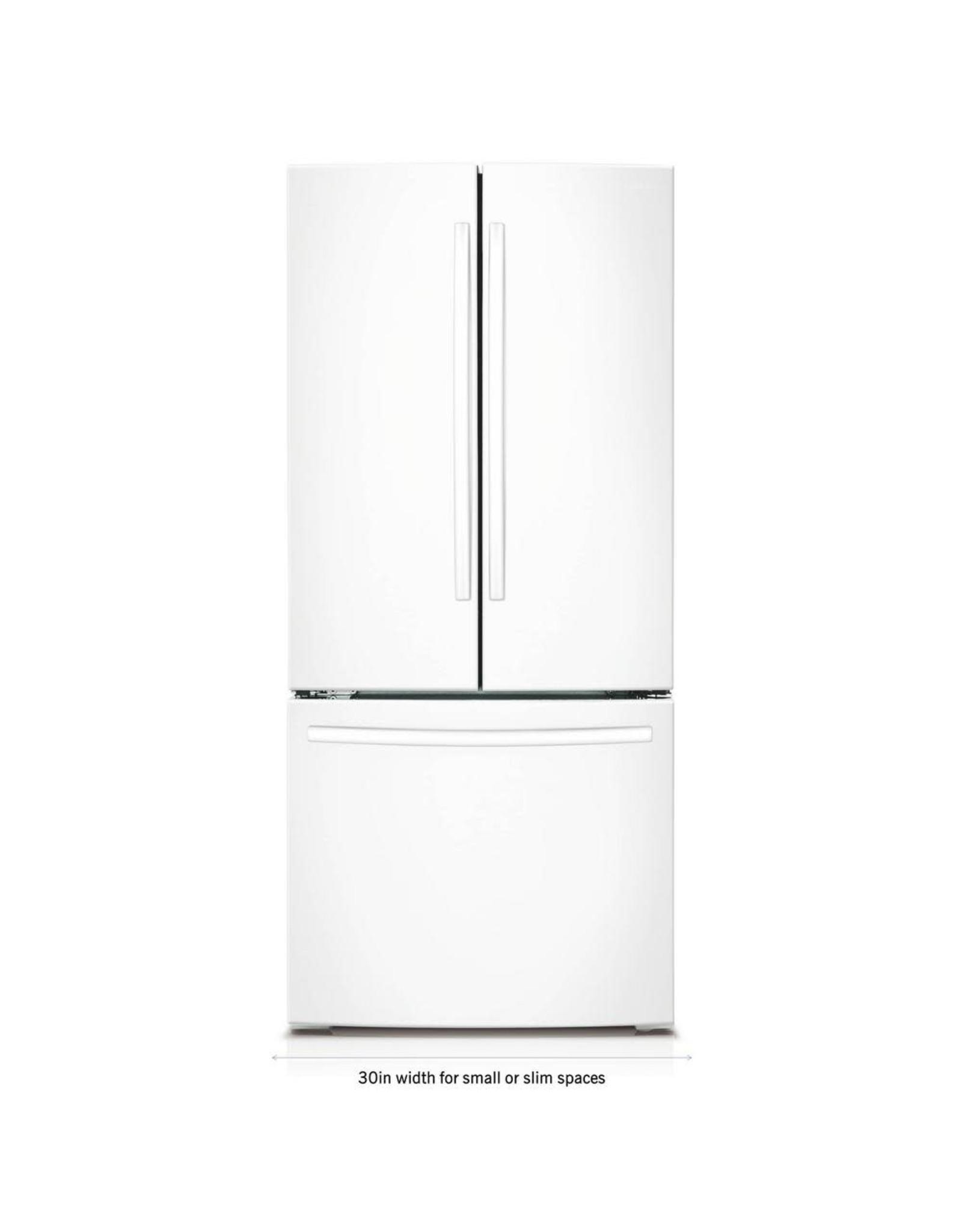 SAMSUNG RF220NCTAWW Samsung 21.6 Cu.Ft. French Door Refrigerator