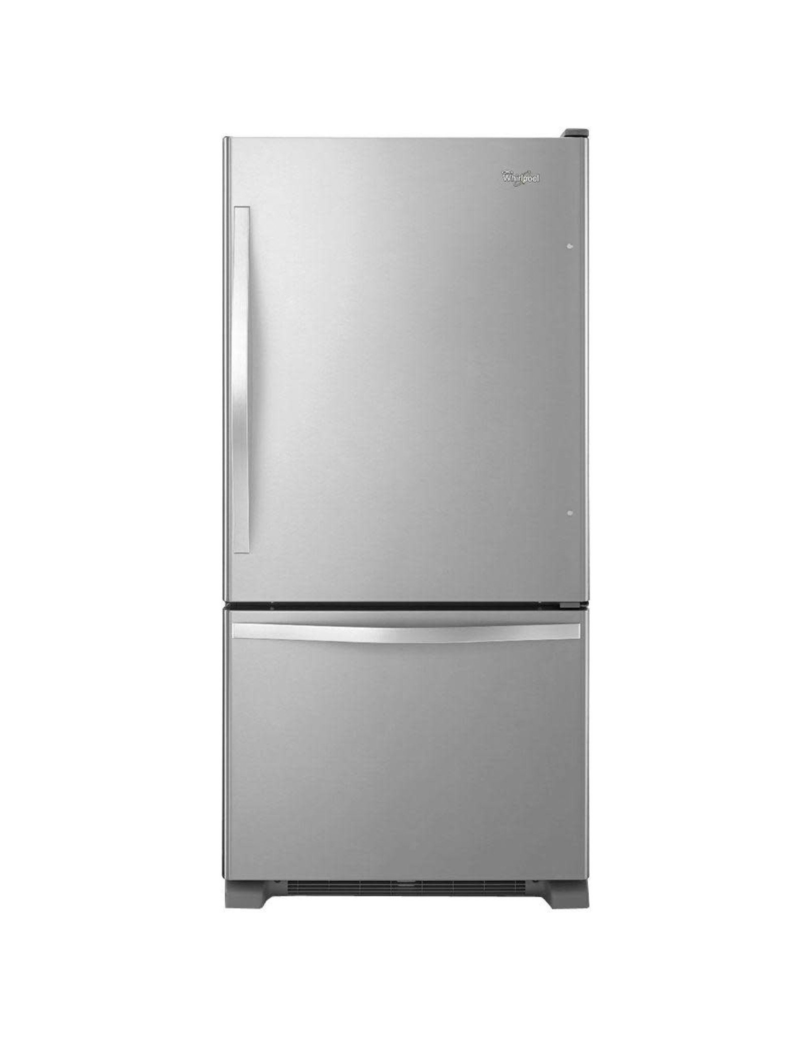WRB329DMBM WHR No Frost Bottom-Free Standing Refr Frez - E-STAR, 19 CU FT, FACTORY INSTALLED ICE