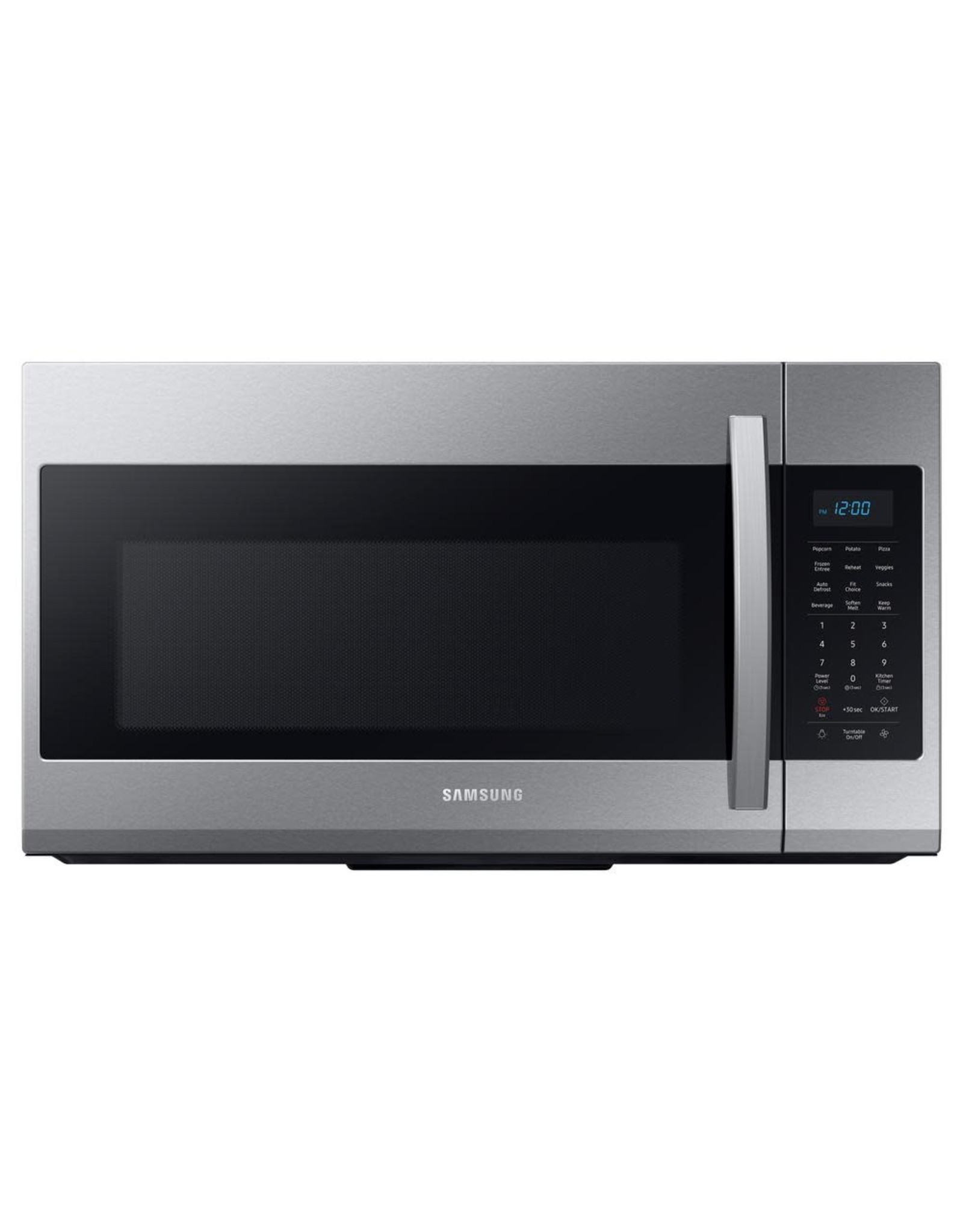 SAMSUNG ME19R7041FS Samsung 30 in. 1.9 cu. ft. Over-the-Range Microwave in Fingerprint Resistant Stainless Steel