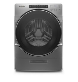WHIRLPOOL WFW6620HC 4.5 cu. ft. High Efficiency Chrome Shadow Stackable Front Load Washing Machine with Load & Go XL Dispenser, ENERGY STAR
