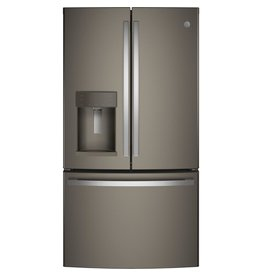 GE GFD28GMLES GE 27.8 cu. ft. French Door Refrigerator with Door-in-Door in Slate, Fingerprint Resistan