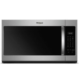 WHIRLPOOL WMH31017HS WHR Microwave, Hood, Combination - 1.7 CU FT, 1000 WATTS, 2-PIECE FRONT, ST