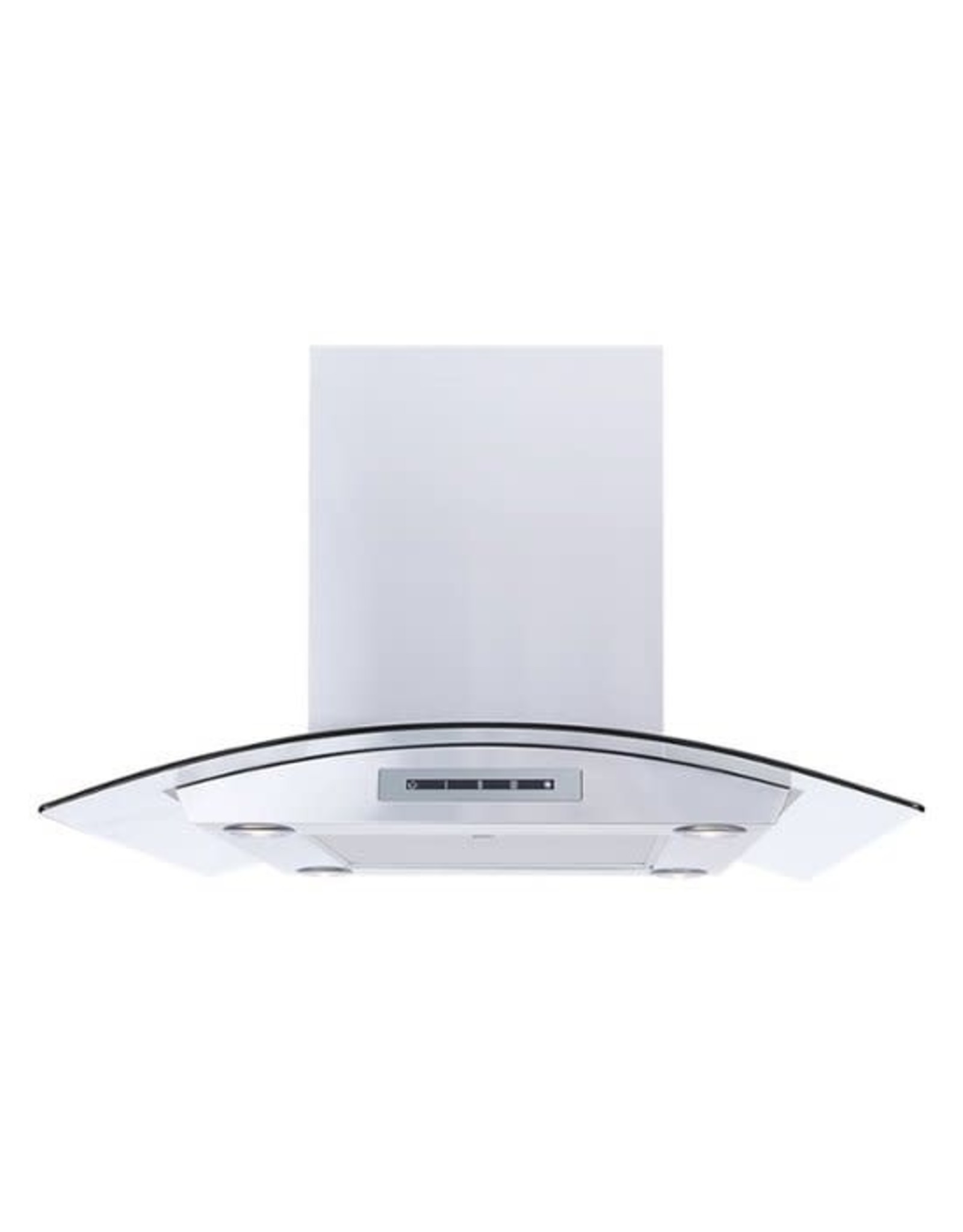 """WINDSTER WS68N30SS 30"""" Convertible Range Hood - Stainless steel and glass Model:WS-68N30SSSKU:4993501 User rating, 4.7 out of 5 stars with 13 reviews."""
