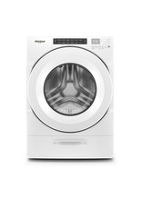 WHIRLPOOL 4.5 cu. ft. High Efficiency White Front Load Washing Machine with Steam and Load and Go Dispenser