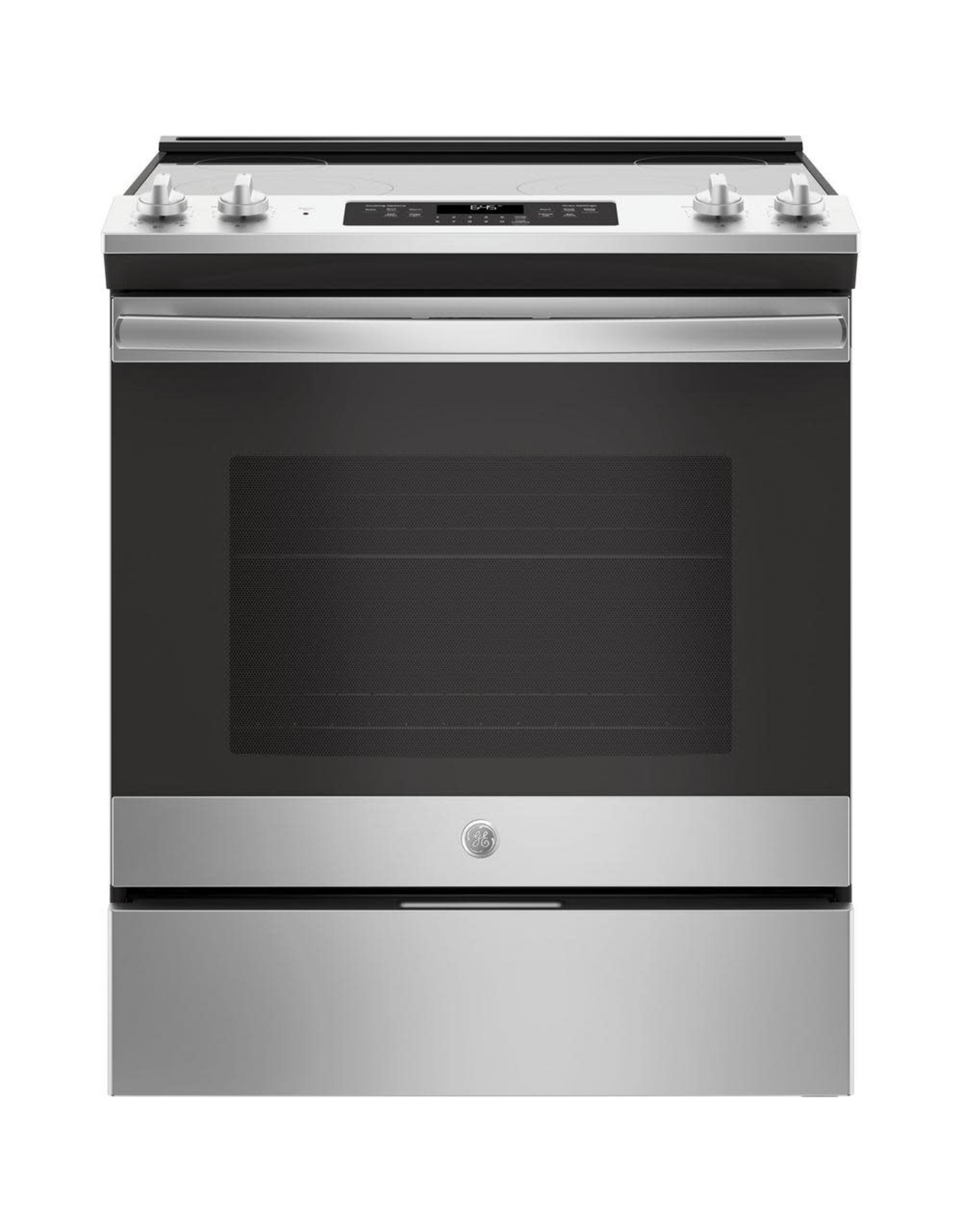 GE GE 30 in. 5.3 cu. ft. Slide-In Electric Range with Self-Cleaning Oven in Stainless Steel