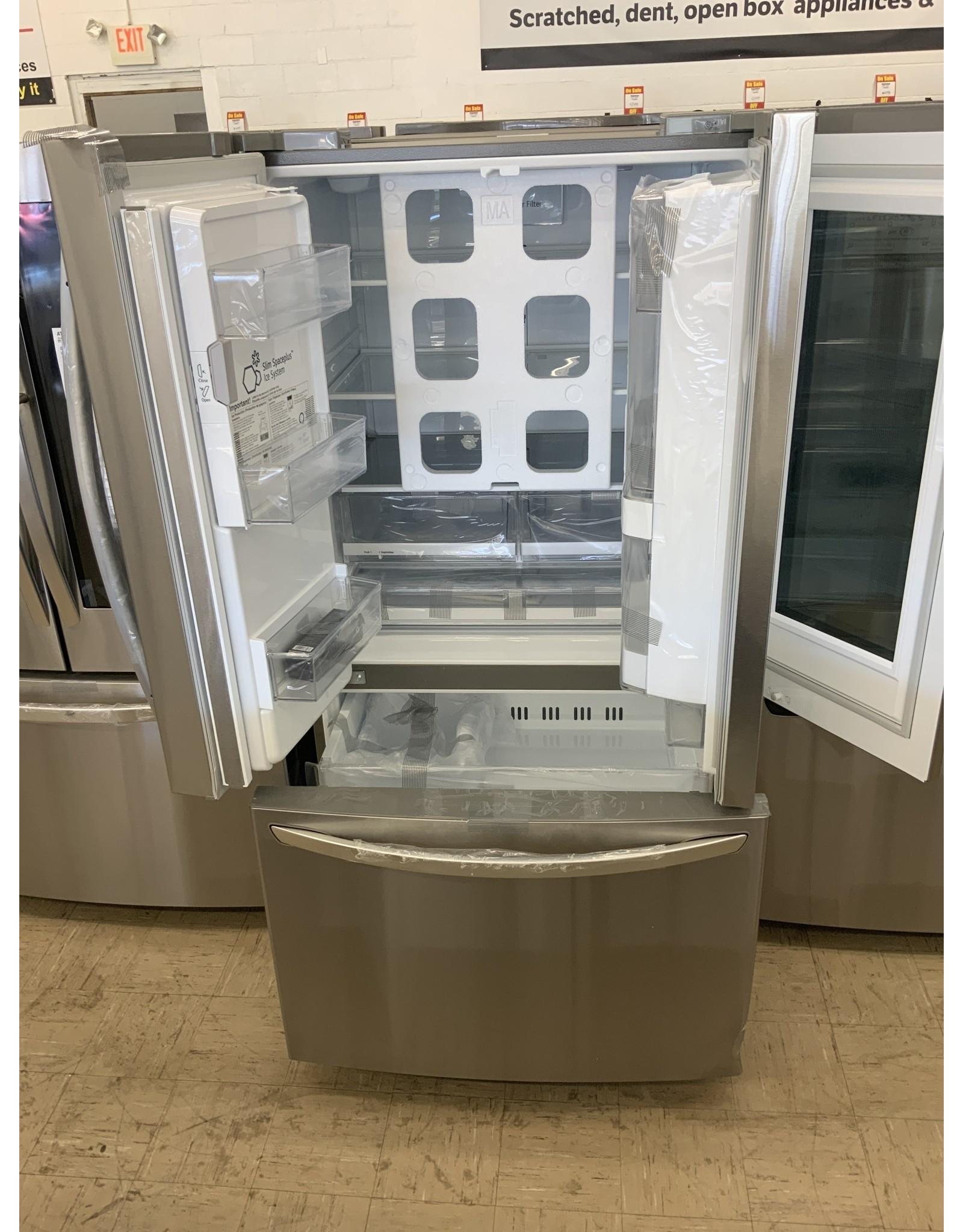 LG Electronics 26 cu. ft. 3-Door French Door Smart Refrigerator with InstaView Door-in-Door in Stainless Steel