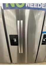 WHIRLPOOL 21 cu. ft. Side by Side Refrigerator in Fingerprint Resistant Stainless Steel