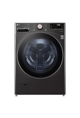 LG Electronics WM4500HBA 27 in. 5.0 cu. ft. Ultra Large Capacity Black Steel Front Load Washing Machine with Coldwash Technology and Wi-Fi