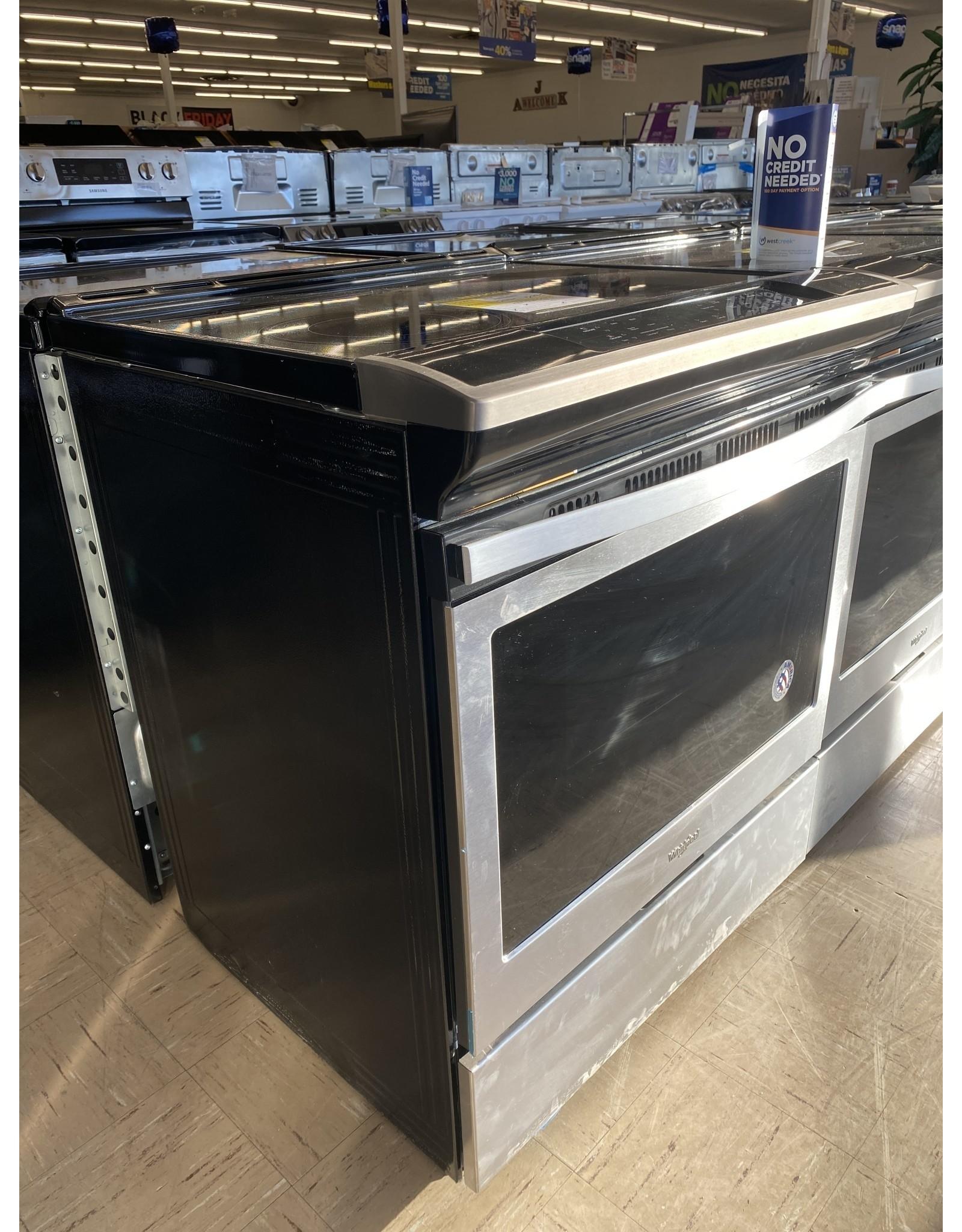 WEE510S0FS WHR Slide-in, Range/Cooker - FRONT CONTROL, 4.8 CU FT, CERAN, PYRO SE