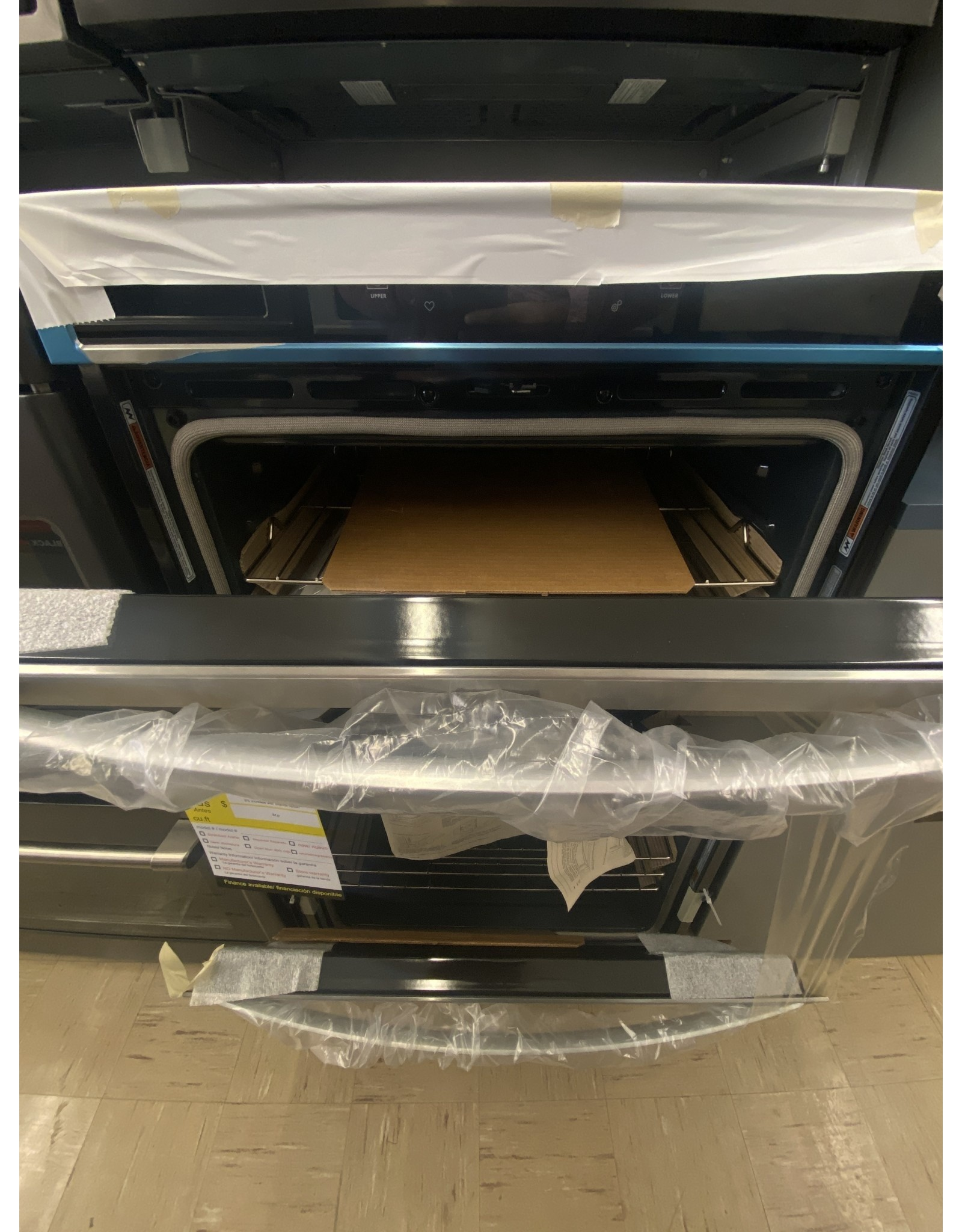 """WOD77EC0HS WHR Ovens - Built-in - Food Prep - 30"""" DOUBLE WALL OVEN, UPPER & LOWE"""