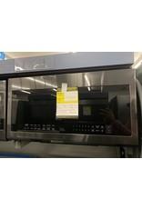 SAMSUNG ME21M706BAG Samsung 30 in. 2.1 cu. ft. Over the Range Microwave in Fingerprint Resistant Black Stainless with Ceramic Enamel Interior