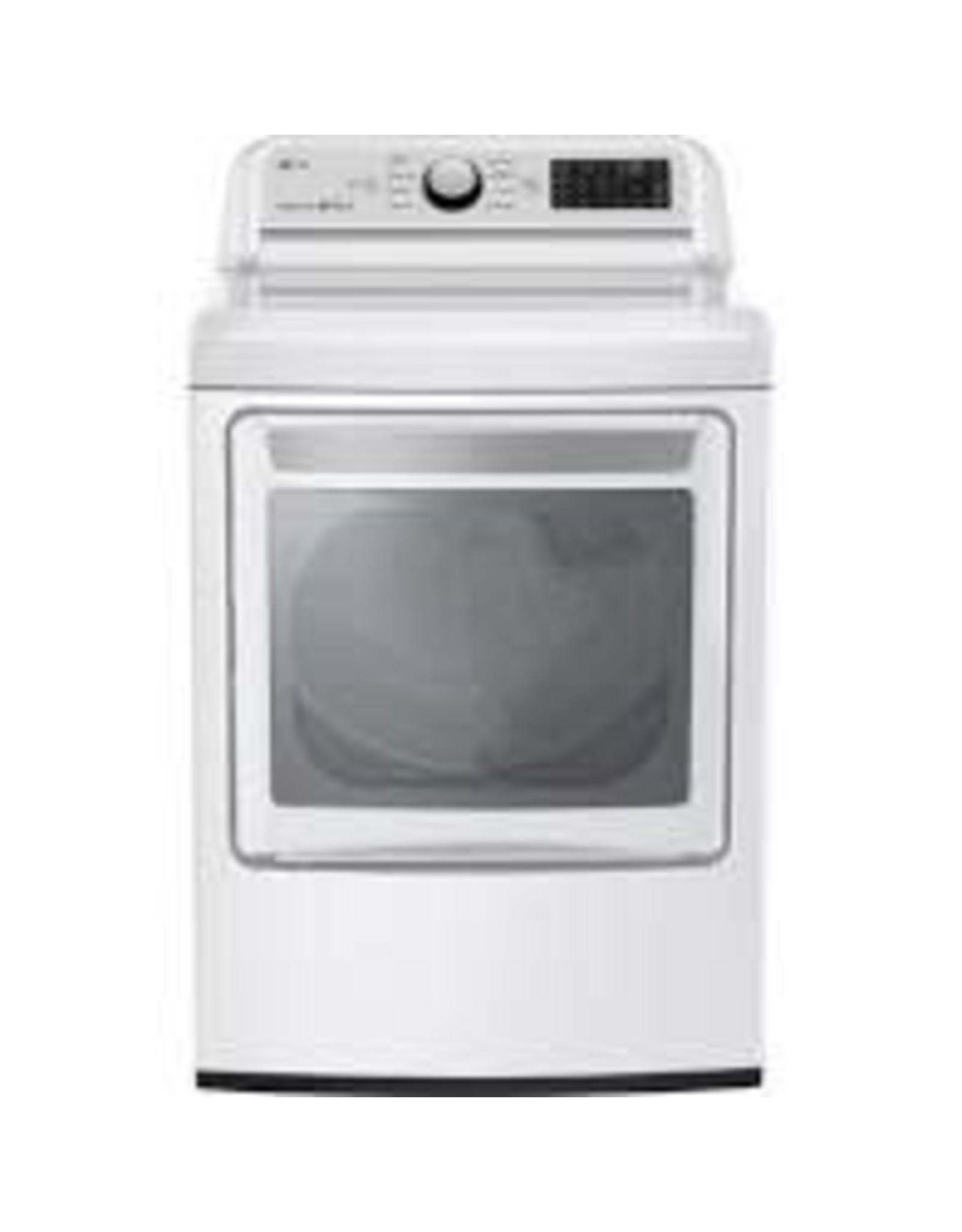 lg DLET7300WE  7.3 cu. ft. Ultra Large Smart Front Load Electric Vented Dryer with EasyLoad Door and Sensor Dry in White, ENERGY STAR