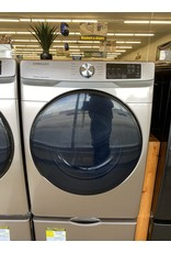 SAMSUNG DVE45R6100C 7.5 cu. ft. Champagne Electric Dryer with Steam