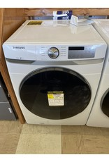 SAMSUNG WF45R6100AW 4.5 cu. ft. High-Efficiency White Front Load Washing Machine with Steam, ENERGY STAR