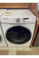 SAMSUNG DVE45R6100W 7.5 cu. ft. White Electric Dryer with Steam