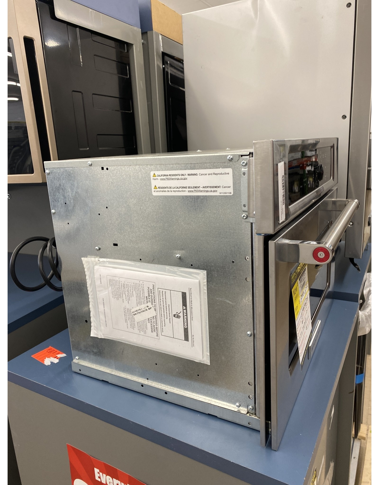 """KMBS104ESS KAD Built-in, MWO - 24"""" BUILT-IN MICROWAVE WITH 27""""/30"""" TRIM"""