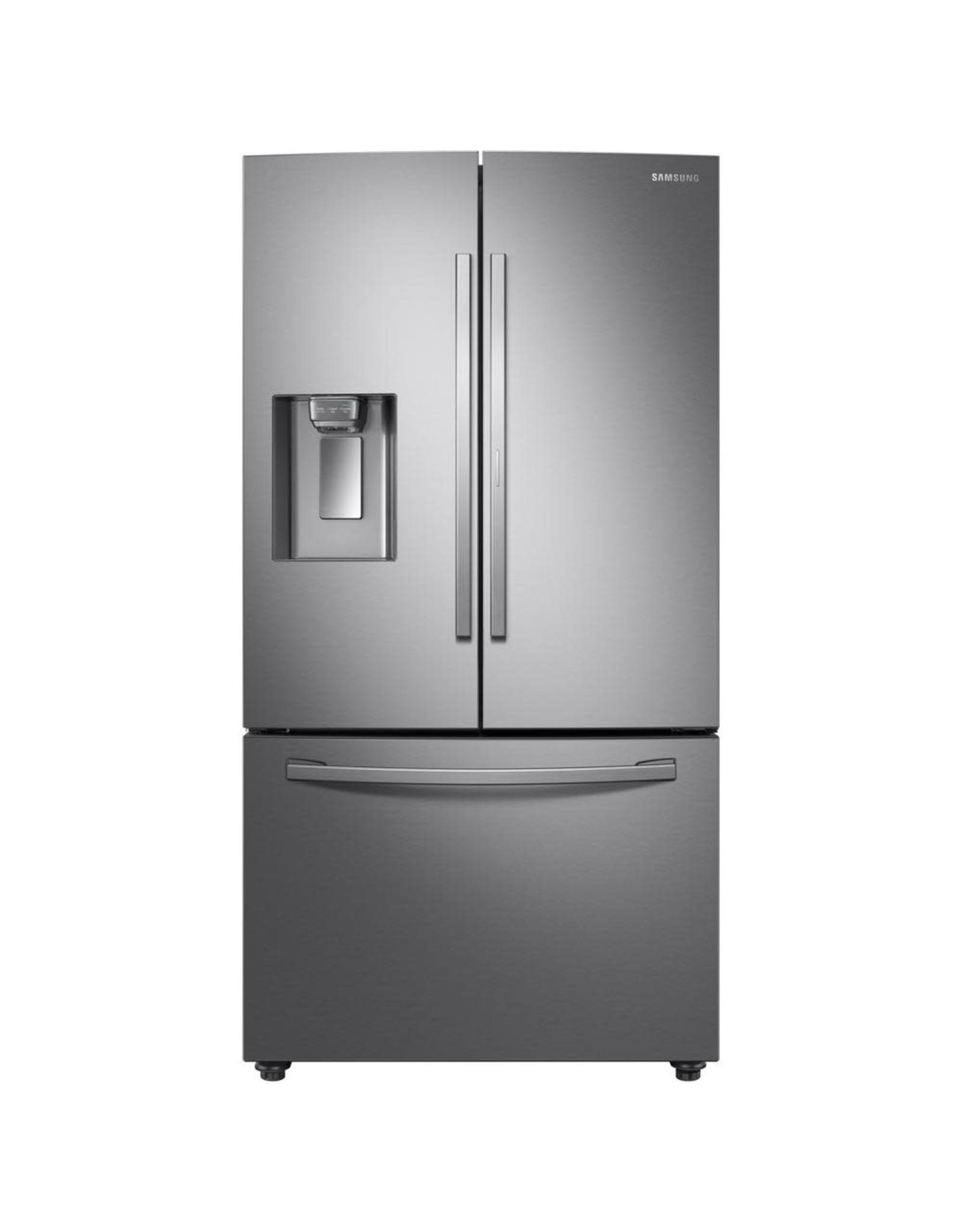 SAMSUNG RF28R6201SR Samsung 28 cu. ft. 3-Door French Door Refrigerator in Stainless Steel with Food Showcase Door