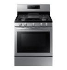 SAMSUNG NX58R5601SS  Samsung 30 in. 5.8 cu. ft. Gas Range with Self-Cleaning and Fan Convection Oven in Stainless Steel