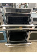 Cafe' CTD70DP2NS1 30 in. Smart Double Electric Wall Oven with Convection Self-Cleaning in Stainless Steel