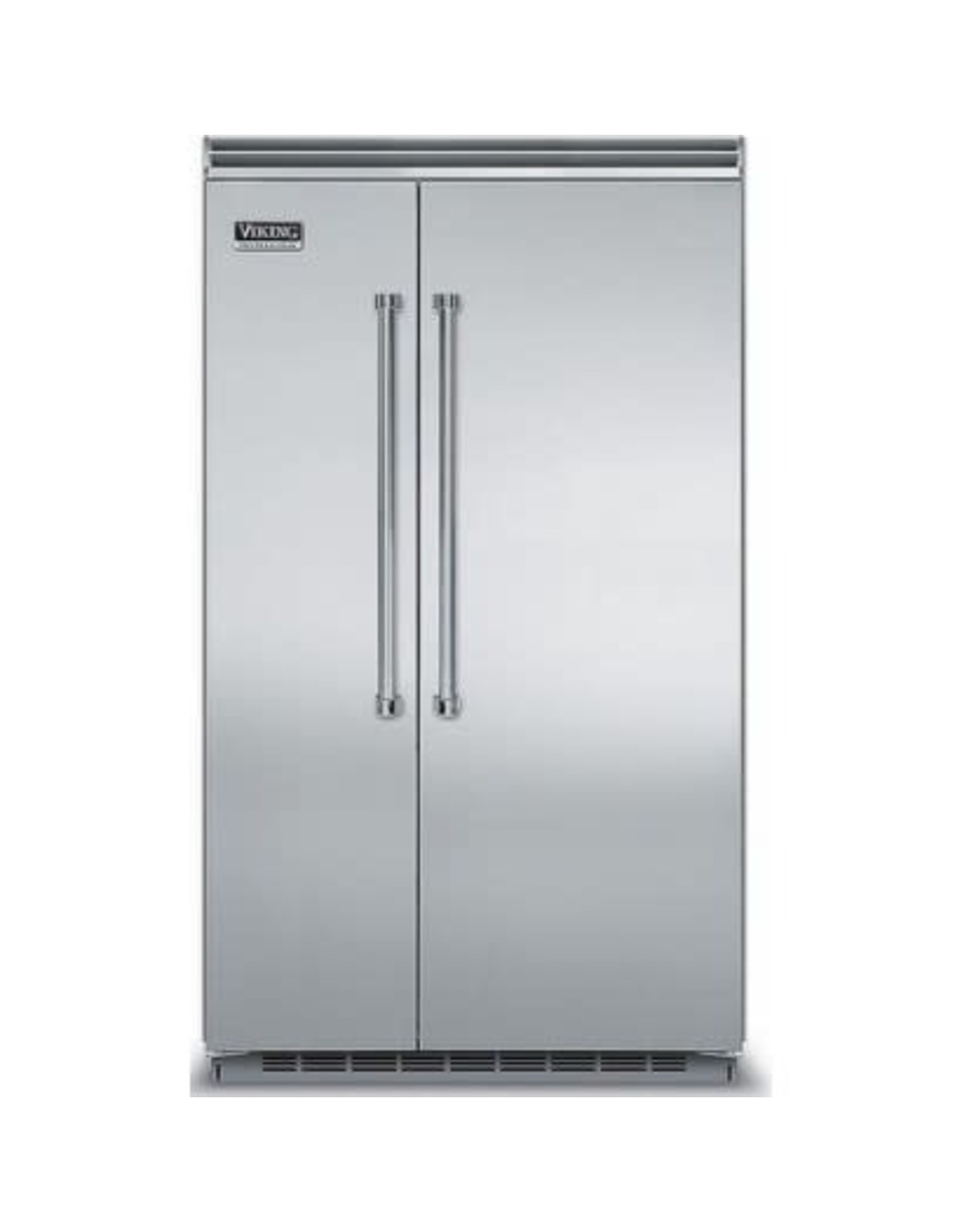 """viking VCSB5423SS Viking VCSB5483SS Professional 5 Series 48"""" Side by Side Refrigerator - Stainless Steel"""