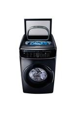 SAMSUNG USED WV60M9900AV Samsung 5.0 cf + 1.0 cf Flex Washer w/ Super Speed (Black Stainless)