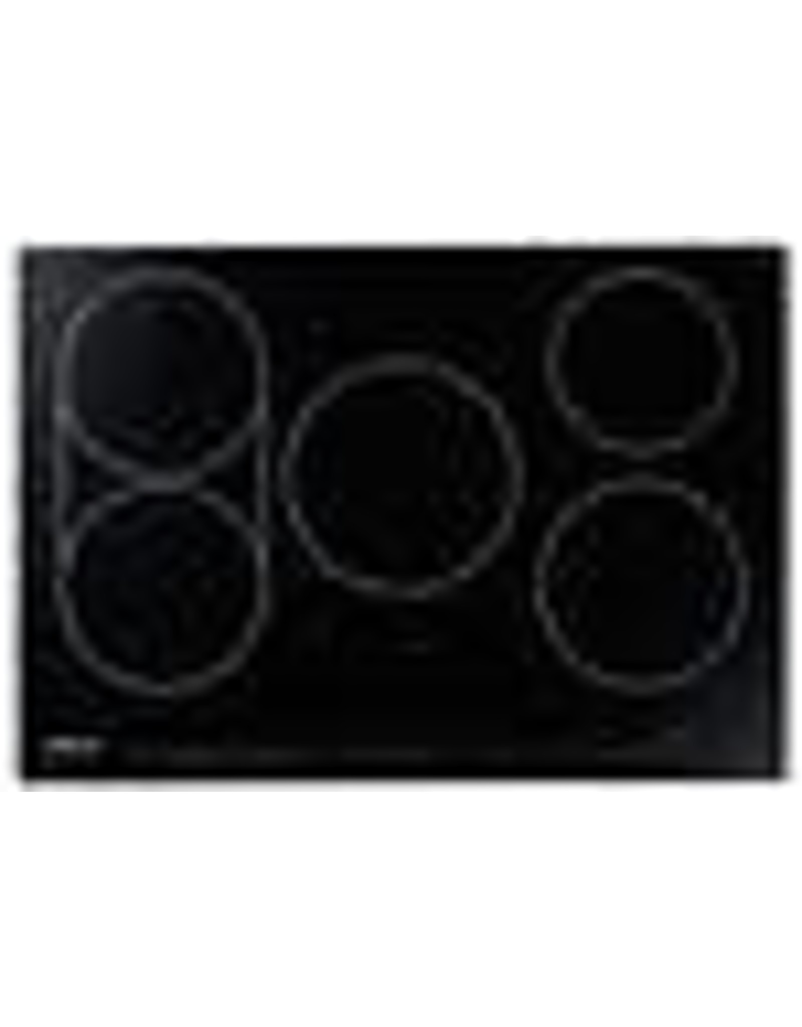 HICT305BG Professional Series 30 Inch Electric Induction Cooktop with 5 Elements, Hot Surface Indicator, Installs Over Oven, Child Lock, Timer, Sensetech Induction Technology in Black