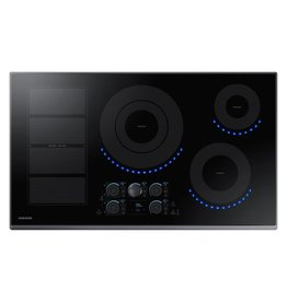 SAMSUNG NZ36K7880UG 36 in. Induction Cooktop with Fingerprint Resistant Black Stainless Trim with 5 Elements and Flex Zone Element36 in. Induction Cooktop with Fingerprint Resistant Black Stainless Trim with 5 Elements and Flex Zone Element