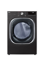 LG Electronics DLEX4500B 7.4 cu. ft. 240-Volt Black Steel Ultra Large Capacity Electric Dryer with Sensor Dry, Wi-Fi Connectivity Turbo Steam